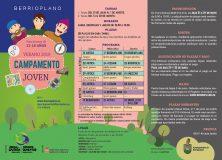 Campamento joven – Preinscripción del 21 al 24 de mayo