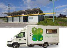 Nueva ubicación para el punto limpio móvil de Artica