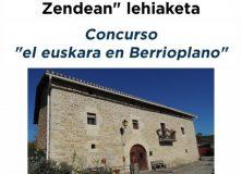 """Ganador del concurso """"el euskara en la Cendea de Berrioplano"""""""