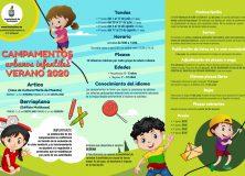 Campamentos urbanos infantiles – Aviso para participantes en 1ª tanda