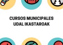 Plazas libres en los cursos municipales 2021/2022